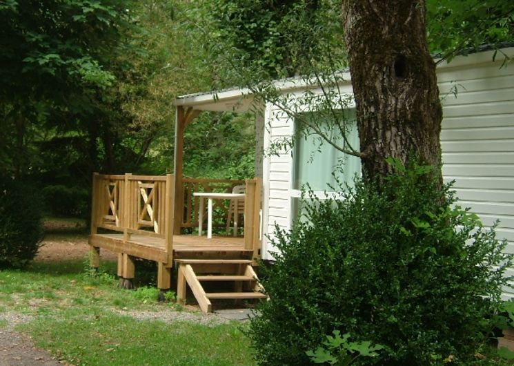 Camping Beau Rivage - Mobil-home