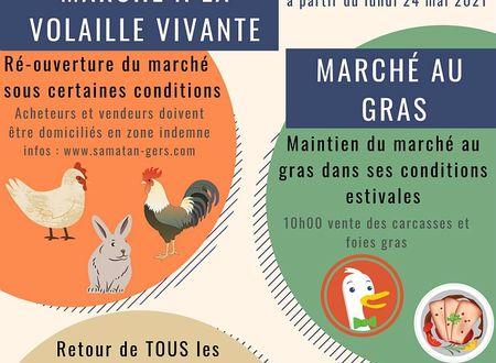 MARCHÉ AU GRAS DE SAMATAN, LES MATIN'HALLES