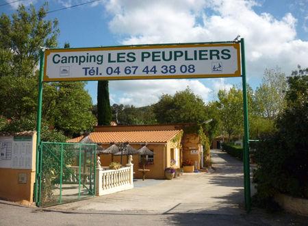 AIRE DE CAMPING-CAR CAMPING LES PEUPLIERS