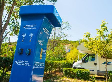 AIRE DE STATIONNEMENT COMMUNALE POUR CAMPING CARS