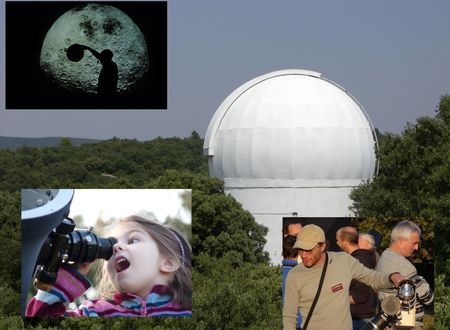 OBSERVATOIRE ASTRONOMIQUE D'ANIANE - ARTS ET ASTRES