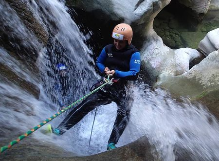 Canyoning - Clue du Terminet