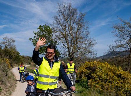 Journée pétillante à vélo
