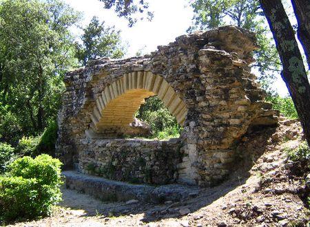 Les vestiges de l'Aqueduc