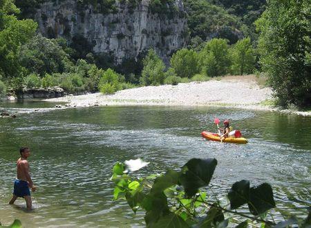 Canoë - Sur l'Hérault depuis Ganges