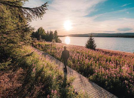 Le Tour du Lac de Charpal