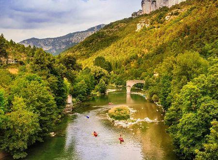 Canoë - Sur le Tarn depuis Les Vignes