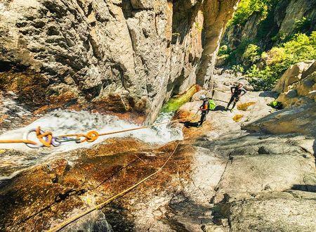 Canyoning - Gorges du Tapoul