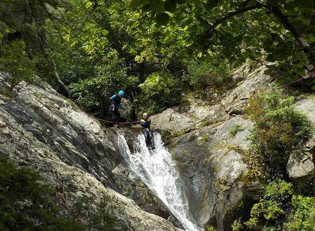 Canyoning - Cascades des Baoussous