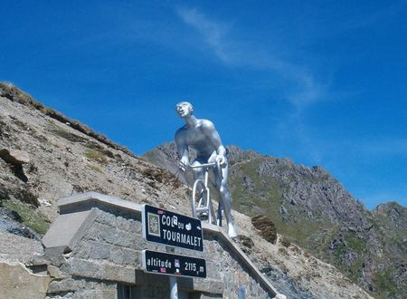 L'ascension du Col du Tourmalet