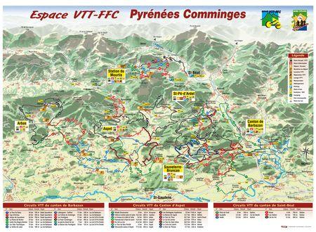 ESPACE VTT FFC PYRENEES COMMINGES