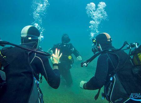 Offrez vous un baptême de plongée et venez découvrir le monde sous-marin du littoral d'Occitanie