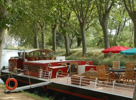 Croisière sur le Canal du Midi à bord de la péniche Savannah