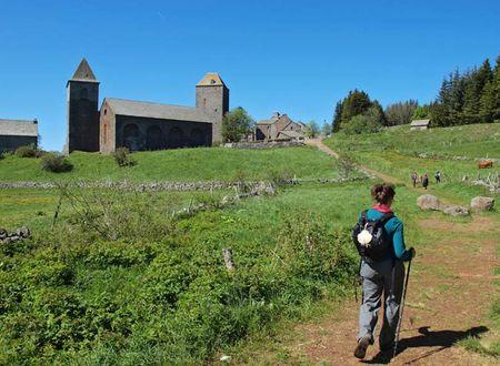 Chemin de Compostelle : Aumont Aubrac - Conques