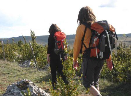 Randonnée entre Causses et Gorges du Tarn