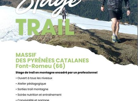 Stage trail à Font Romeu !