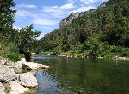 Randonnée en canoë dans les gorges du Tarn