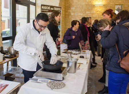 Pierre blanche et truffe noire au coeur du Quercy