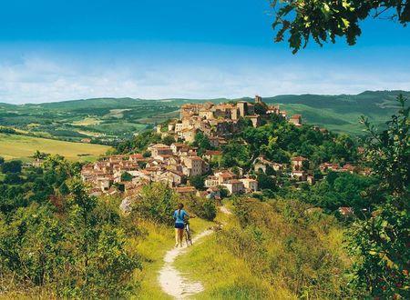 Villes et villages du Sud-Ouest à vélo : Albi, Gaillac, Cordes sur Ciel
