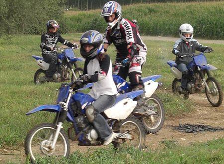 Moto Découverte en Val de Garonne