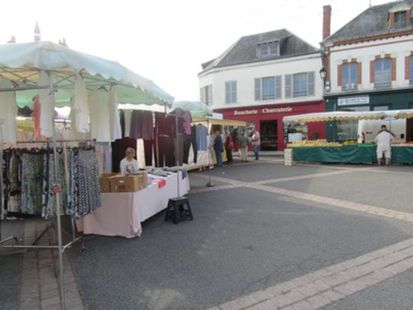 Marché de Bellegarde - Lundi
