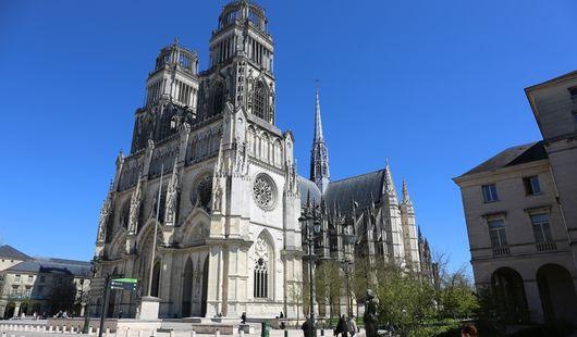 Visite de la ville d'Orléans