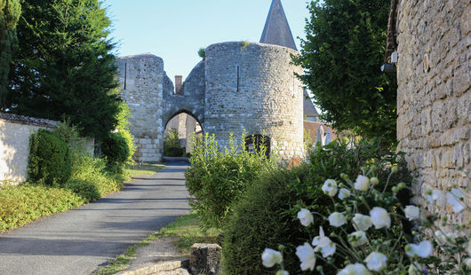 Forteresse médiévale et village de Yèvre-le-Châtel