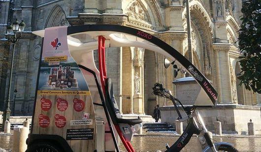 Mon Coursier de Quartier - Vélo Taxi d'Orléans