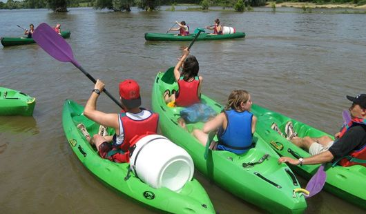 Locations de canoë-kayak - Camping Touristique de Gien