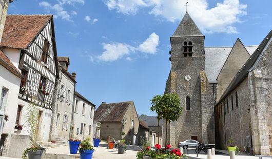 Beaulieu-sur-Loire, le village aux deux cents puits