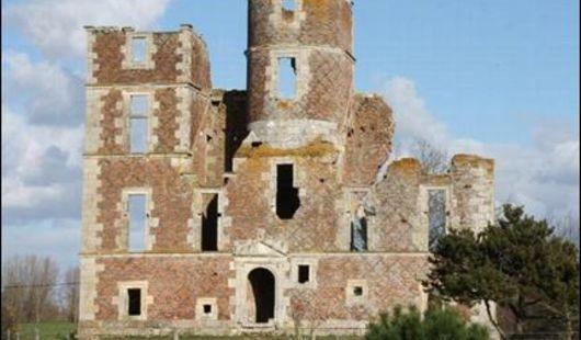 Vestiges du château de l'Isle