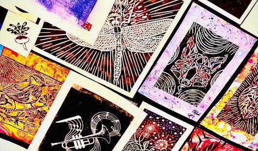 Atelier de Pratique Artistique Linogravure à l'AMI