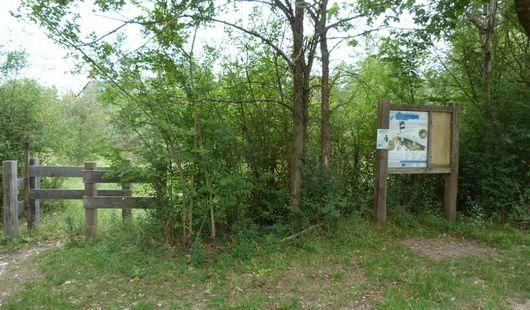 Site naturel préservé de l'Île à Gaston