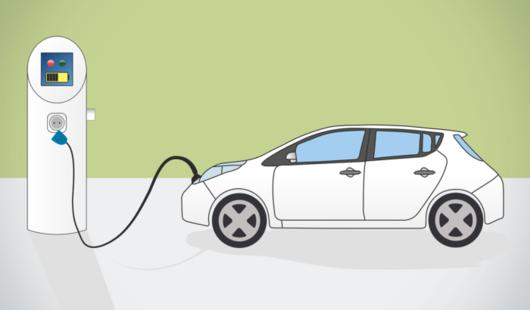 Borne de recharge pour voiture électrique Mairie de Dadonville