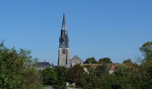 Eglise Saint-Martin et crypte Saint-Pipe