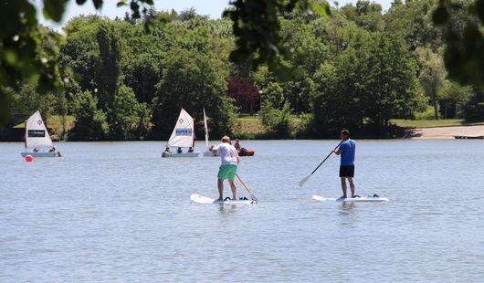 Paddle au Lac des Closiers
