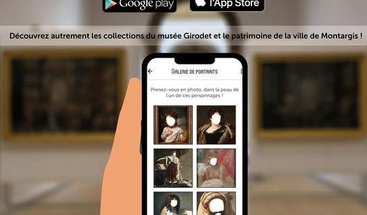 Application numérique du Musée Girodet