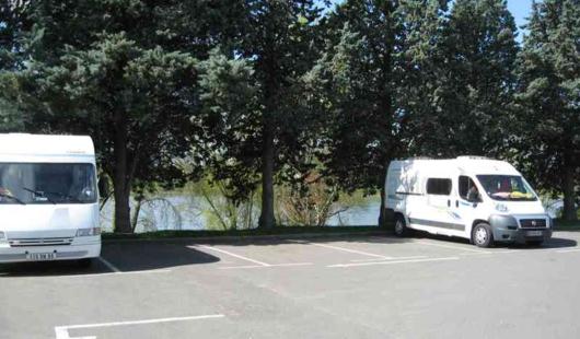Aire de camping car municipale