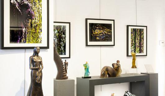 Galerie d'art de Natacha MONDON et Eric PIERRE - verriers, céramistes et sculpteurs