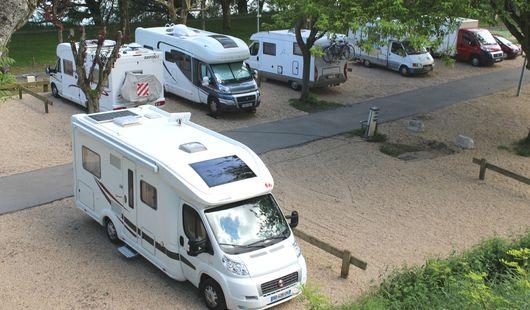 Aire de stationnement pour camping-cars - Chemin de Fourneaux