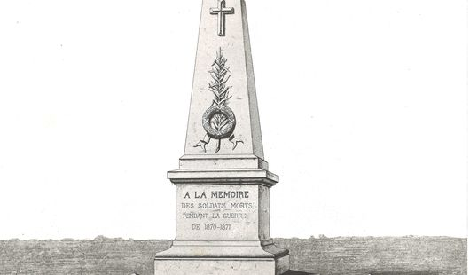 Monument ossuaire commémorant le conflit de 1870