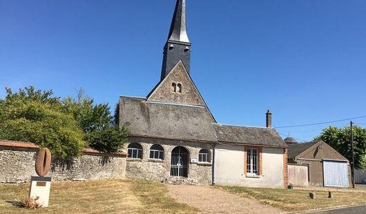 Eglise Saint-Aignan de Teillay-le-Gaudin
