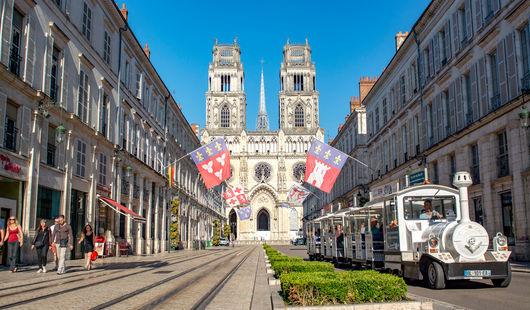 Petit train touristique d'Orléans