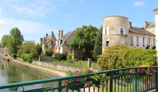 Visite de la ville de Montargis