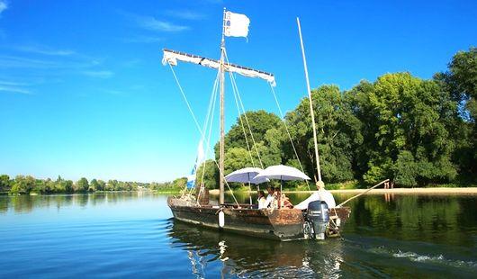 Balade en bateau sur la Loire à bord de la Sterne