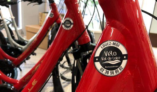 Vélo Val de Loire Point de dépôt