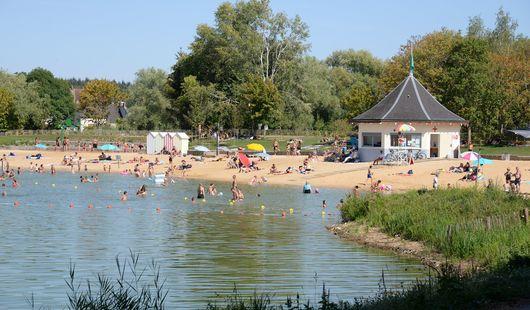 Base de loisirs au lac de Chalette-sur-loing