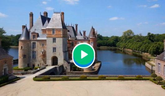 Visite virtuelle du Château de La Bussière