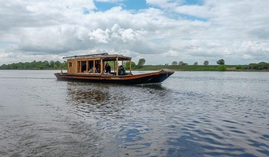 Boat trip with the Cœur de Loire association