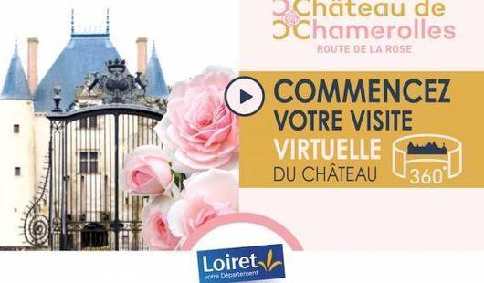 Visite virtuelle du Château de Chamerolles